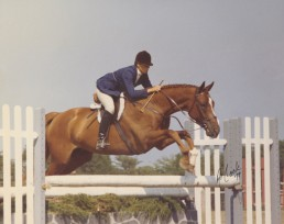 Katharine and home-bred Fiddler's Pride 1977
